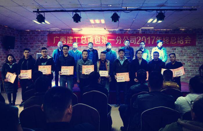 黎旭东(左四)获评分公司2017年度优秀员工.jpg
