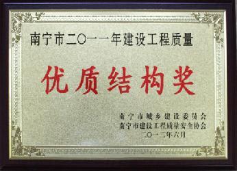 2011年优质结构奖